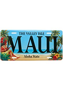 Aloha Hawaii License Plate Zero Gravity Hawaii