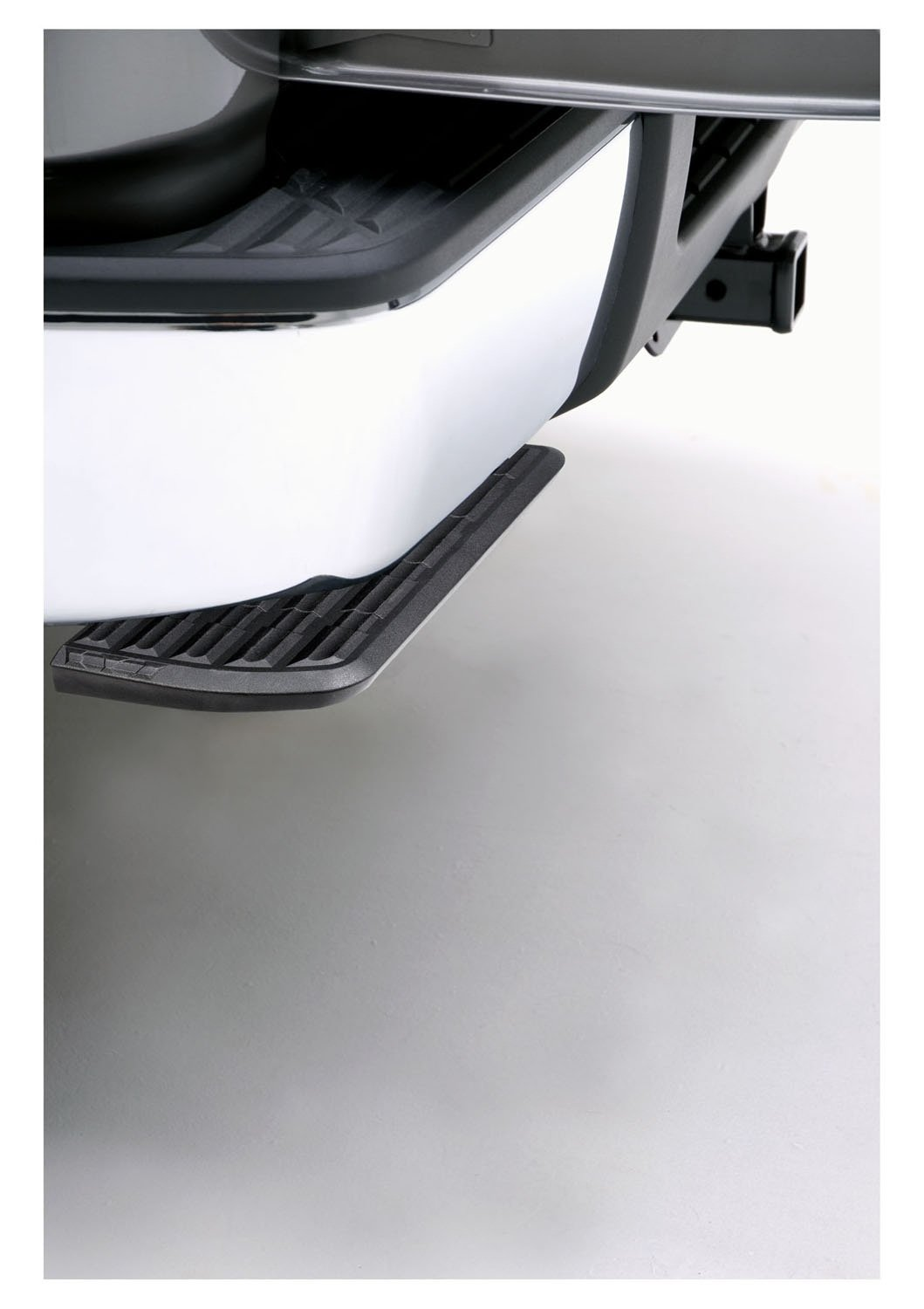 AMP Research 75300-01A BedStep Retractable Bumper Step for 2007-2013 Silverado & Sierra 1500, 2007-2010 Silverado & Sierra 2500/3500 (Excludes 2007 Classic & Flareside Models) by AMP Research