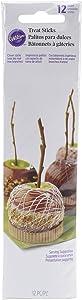 Wilton 2113-0259 Caramel Apple Branch Sticks, Assorted