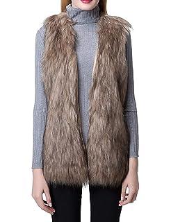 2018 Limsea Women Faux Fur Outwear,Ladies Gilet Shrug Sleeveless Vest Waistcoat Jacket Coat