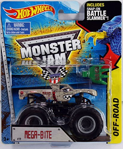 Hot Wheels Monster Jam 2015 Ice Cream Man (With Battle Slammer) for $<!--$39.99-->