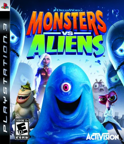 Monsters vs. Aliens - Playstation 3 -