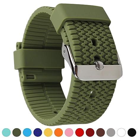 Axcellent Watch Straps Repuesto de Correa Reloj de Silicona ...