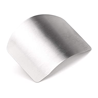 Zelta Finger Guard Digiclass Slicing Cutting Protector 2.6 Inches Stainless Steel Finger Protector Cutting