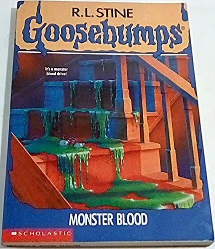 Goosebumps Monster Blood Stine R L Amazon Com Books