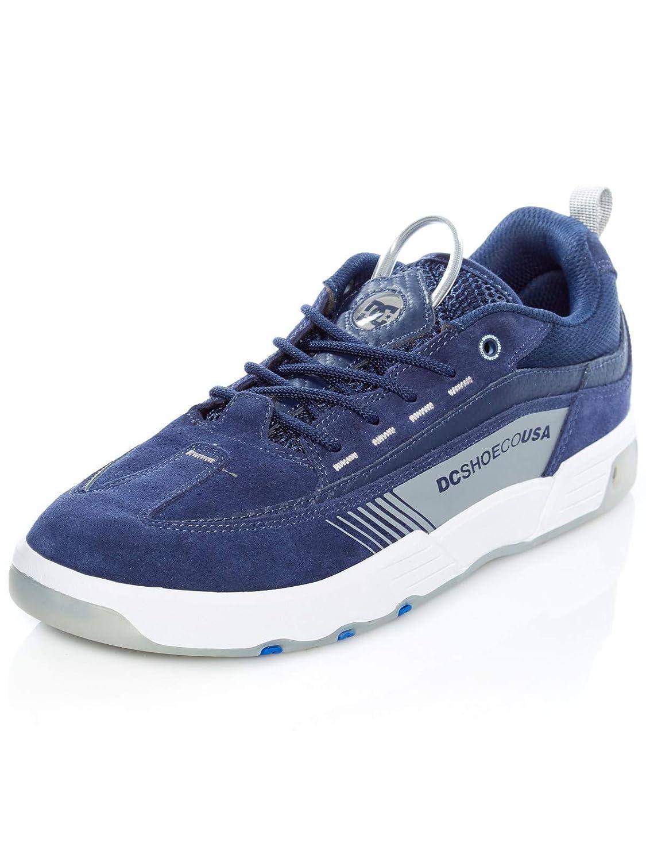 DC dunkelblau grau Legacy 98 Slim Skate Series Schuhe