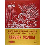 1972 Chevelle Wiring Diagram Manual Reprint Malibu Ss El Camino Gm Chevy Chevelle Chevrolet Gm Chevy Chevelle Chevrolet Gm Chevy Chevelle Chevrolet Gm Chevy Chevelle Chevrolet Amazon Com Books