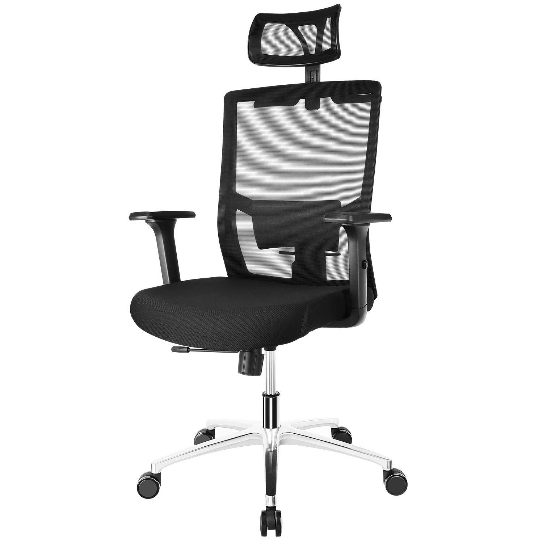 FIXKIT Chaise Bureau ErgonomiqueChaise PatronRotation A 360 AccoudoirsAppui