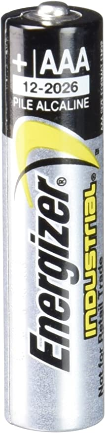 Amazon.com: Energizer AAA Alkaline Industrial Batteries - 24 Pack: Health & Personal Care