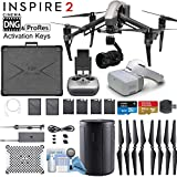 DJI INSPIRE 2 and DJI Goggles Combo with Zenmuse X5S 3-Axis Gimbal/Camera - CinemaDNG & Apple Pro Res License Keys - Pro Bundle