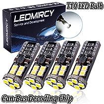 T10 LED Lights Bulb Super Bright 3030 W5W