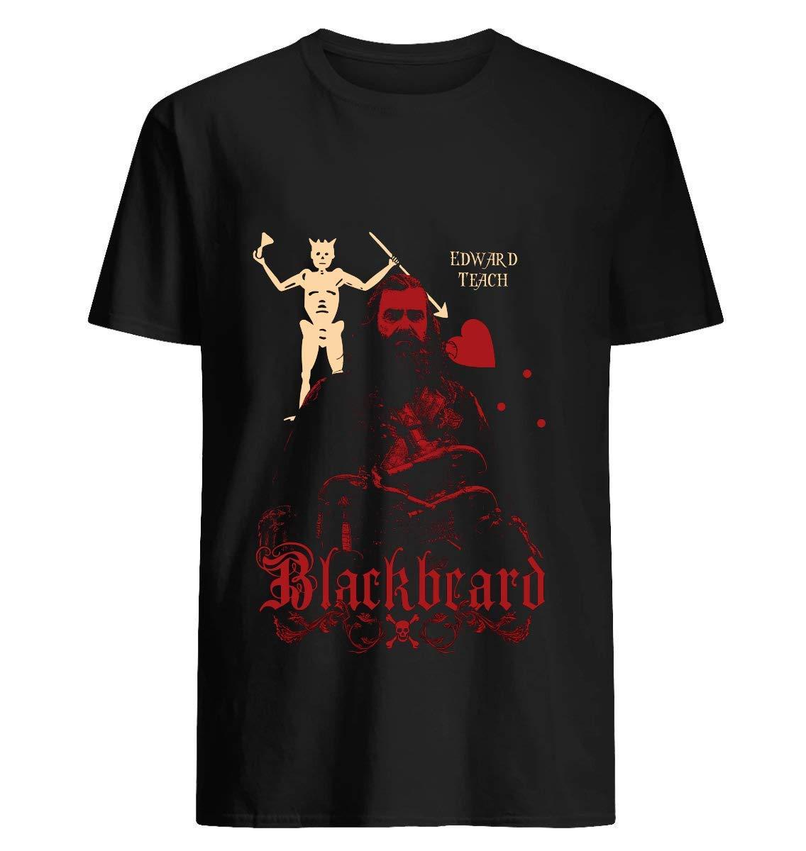 Black Sails Blackbeard 95 T Shirt For Unisex