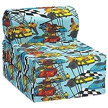 Comfy Kids - Kids Flip Chair (Race Car)