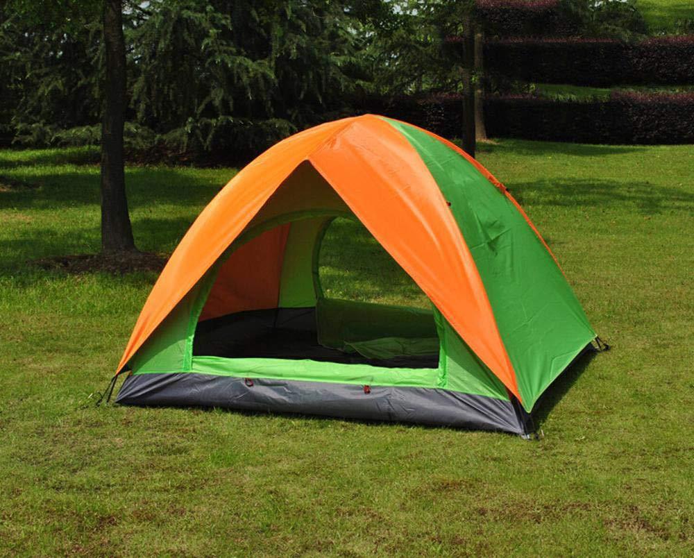 Lxj Outdoor-Zelt im Freien 3-4-Personen zweitürig Zelt Camping Zelt 200  200  h135cm