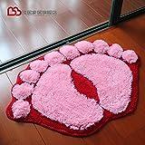 Simple And Creative Kitchen Bathroon Bedroom Anti-Slip Doormat m 45x65cm
