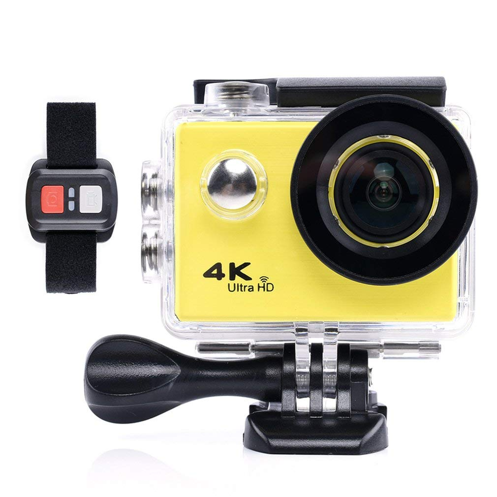 FDBF 4K Waterproof Sports Camera SJ9000X Elite Explosion Aerial Photography Dive giallo