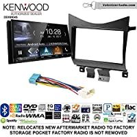 Volunteer Audio Kenwood DDX9904S Double Din Radio Install Kit with Apple CarPlay Android Auto Bluetooth Fits 2003-2007 Accord