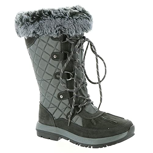 61ff2ed3413 Amazon.com | BEARPAW Quinevere Tall Waterproof Boot for Women | Snow ...