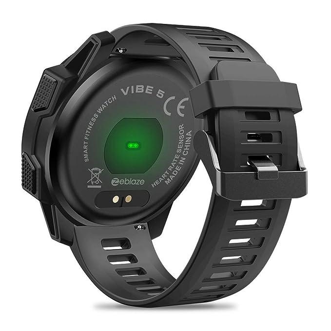 Amazon.com : HZC Zeblaze Vibe 5 Rugged Smart Watch, IP67 ...