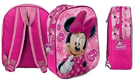 1479b695bb9fd4 Star Disney Minnie Art. Codice 54690, Zaini Stampati in 3D, Dimensioni: 26