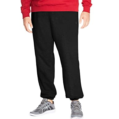 8cd5e54ce Amazon.com: Champion Men's Big & Tall Fleece Athletic Pants Black 2X ...