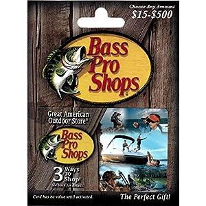 Bass Pro Shops $100 Gift Card