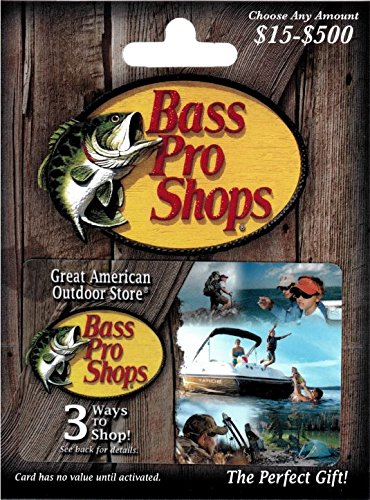 Bass Pro Shops $100 Gift Card - Gift Give Online A Card