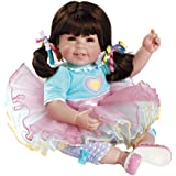 "Adora Toddler Sugar Rush 20"" Girl Weighted Doll Gift Set For Children 6+ Huggable Vinyl Cuddly Snuggle Soft Body Toy"