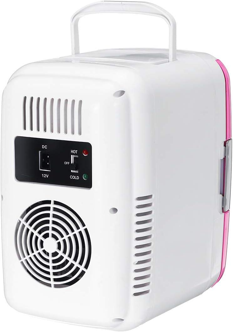 JZZY Mini congelador ABS pl/ástico Ahorro energ/ía extra/íble del refrigeradores Ultra silencioso bajo Ruido Enchufe calefacci/ón Herramienta Viaje