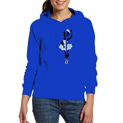 A allerina Womens Hoodie Fleece Custom Sweartshirts