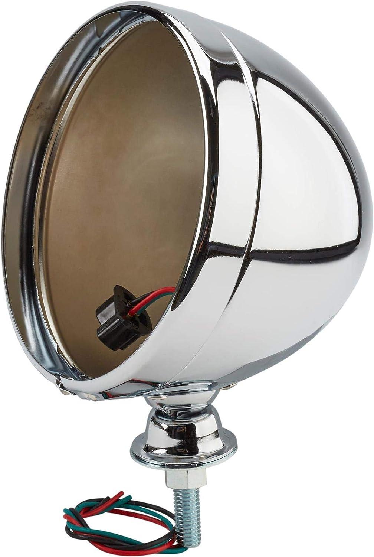 Chrome Dietz Type 7 Inch Headlight Bucket