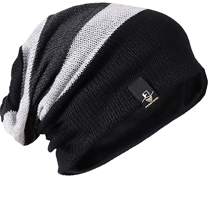 63e62fb3580 FORBUSITE Beany Winter Summer Men s and Women s Slouch Beanie Hat B08 -  Multicolour ...