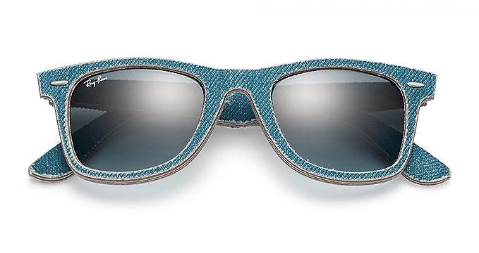 48c89288faf993 Ray-ban lunettes de soleil imitation wayfarer bleu denim original ...