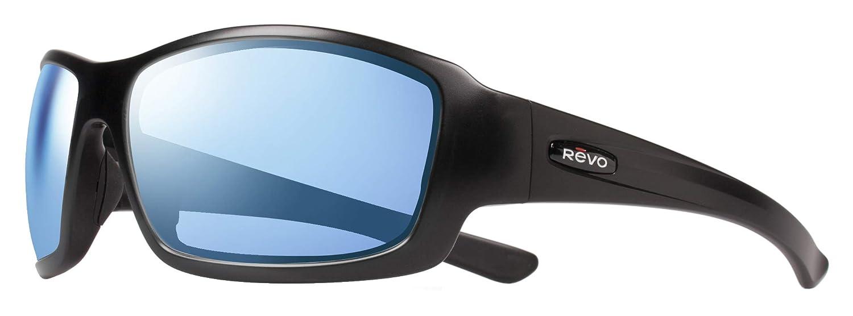 64 mm Revo Maverick Bear Grylls Sunglass Polarized Wrap Matte Graphite