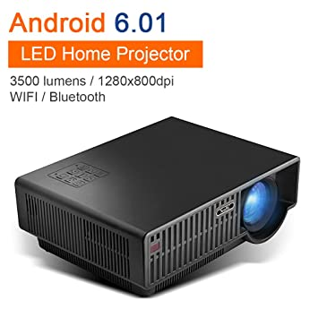 Proyector de Teatro LED NewPal NP90C con Bluetooth WiFi Compatible ...