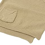 Baby Boys Girls Crochet Sweater Infant Kids Cable