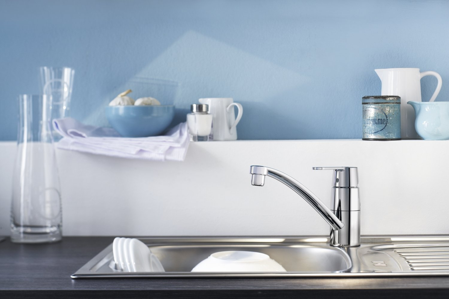 Tap Designs For Kitchens Grohe Get Kitchen Tap Amazoncouk Diy Tools