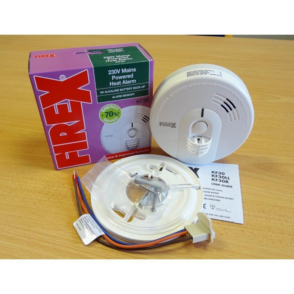 Kidde - Detector de Calor KF3 (Alarma de Calor de Baterías/Red Eléctrica): Amazon.es: Bricolaje y herramientas