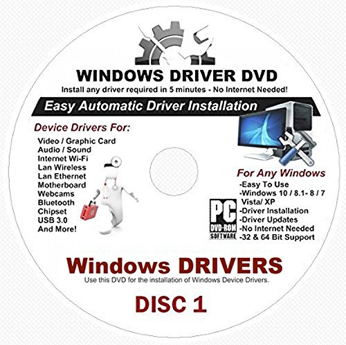 2019 Automatic Driver Recovery [Disc 1 & Disc 2] Drivers for