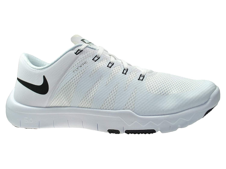 08acb087b07 ... usa amazon nike mens free trainer 5.0 v6 white black cool grey mesh  cross trainers shoes