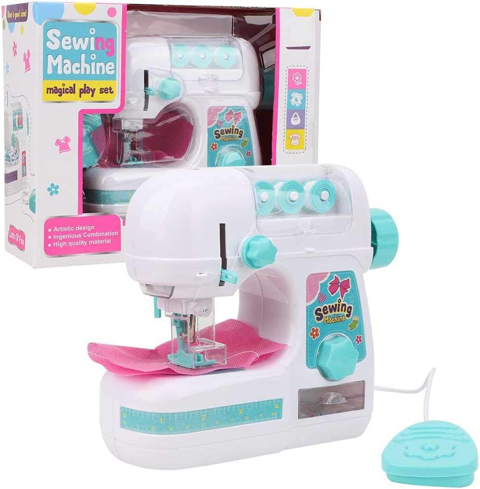 Juguete de máquina de coser para niños Mini tamaño Simulación Educación Juguete de máquina de coser para niños interesante