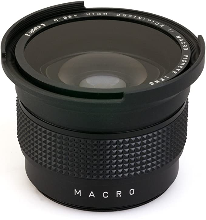 Opteka OPT-0.35X-SON55 - Objetivo de ojo de pez para cámaras ...