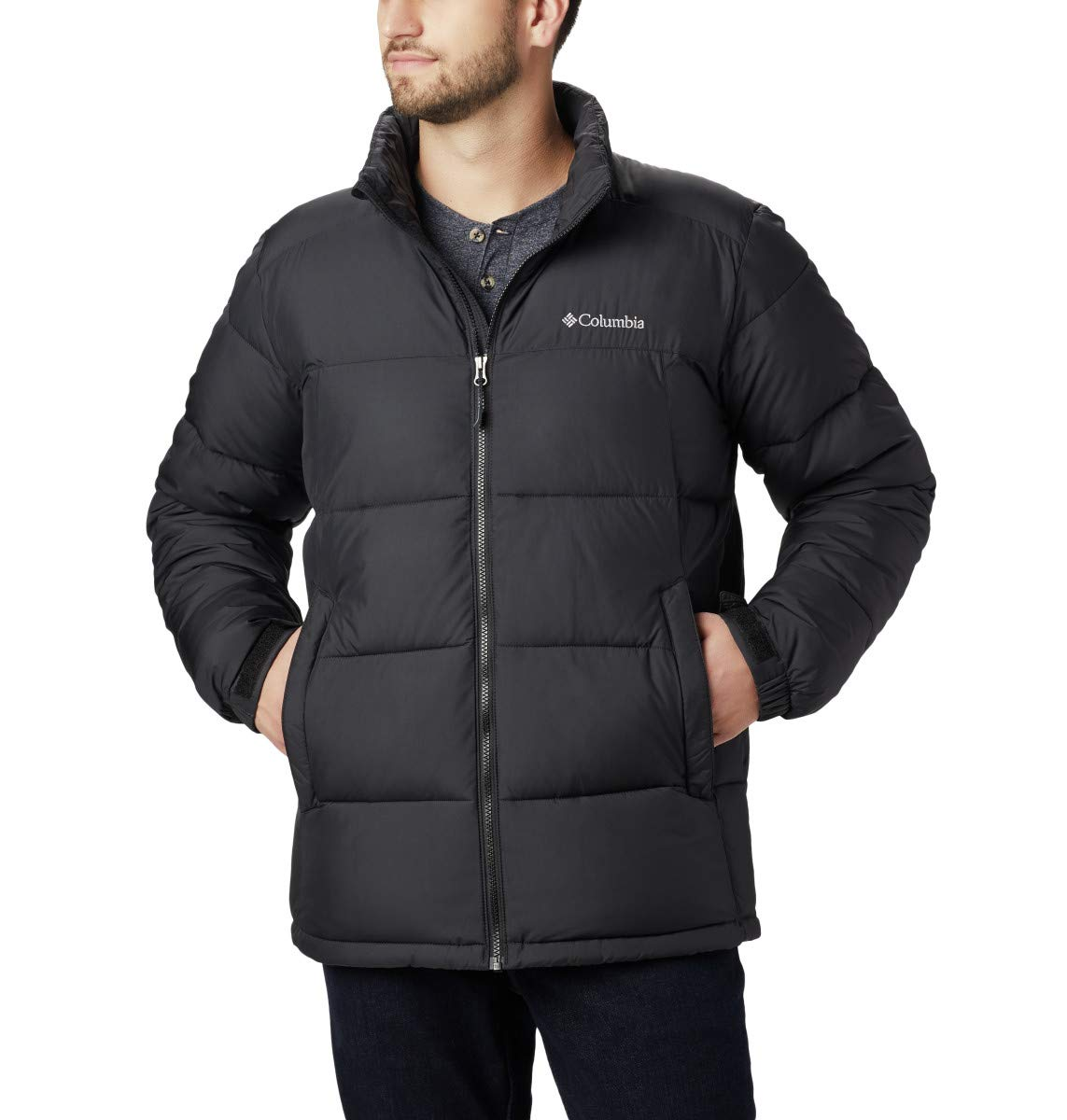 Columbia Men's Pike Lake Jacket, Black, XX-Large by Columbia