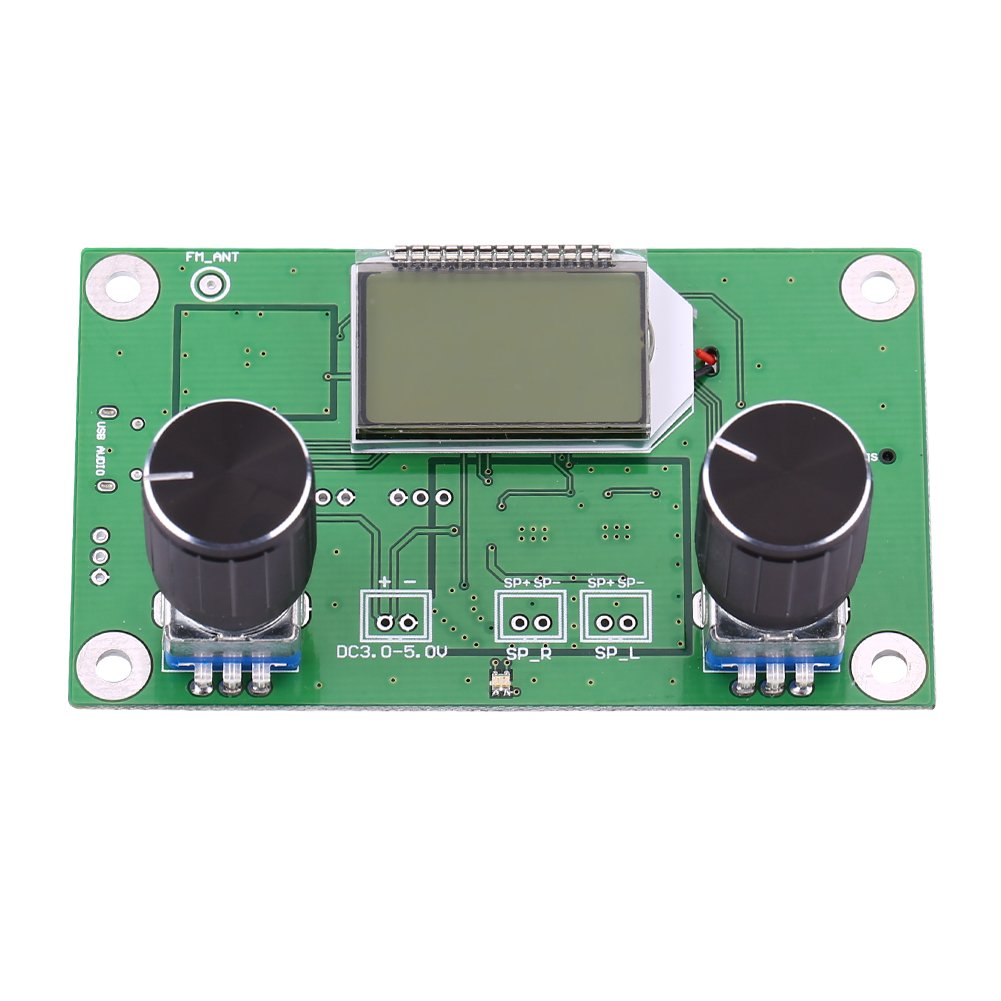 Mini Digital Fm Radio Wireless Receiver Module Lcd Display Dsp Pll 8w Stereo Transmitter With Business Industry Science