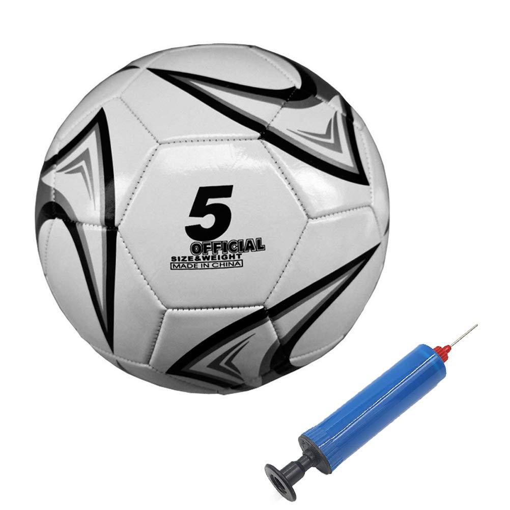 Aoneky Balón de Fútbol de Entrenamiento con Bomba de Bola, Tamaño ...