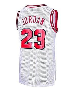 Camiseta de Baloncesto para Hombre, NBA Chicago Bulls Retro Camiseta de Jugador de Baloncesto Jeysey, Bordado Transpirable y Resistente al Desgaste ...