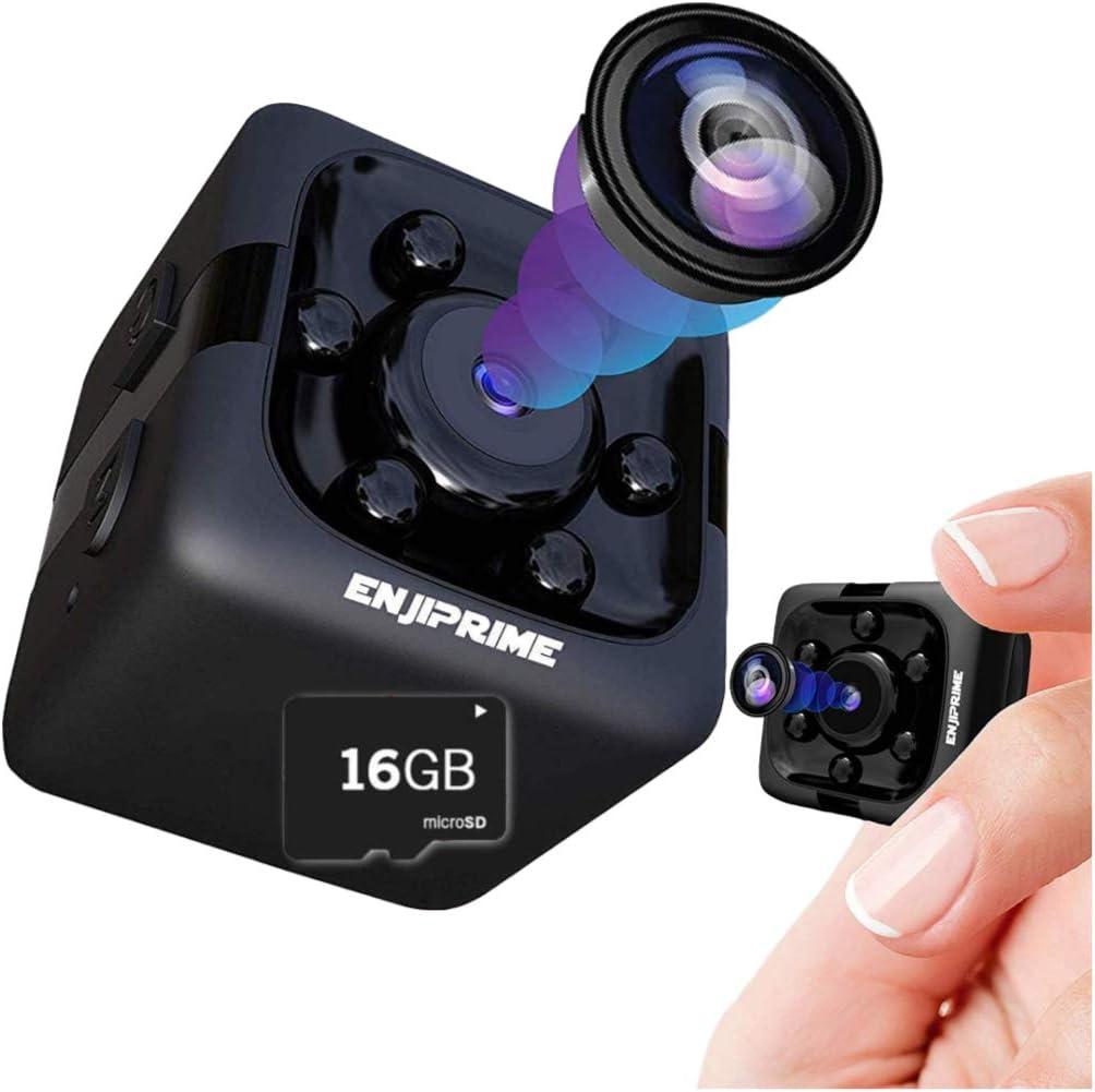 Enji Prime Spy Hidden Camera – Wireless Hidden Car Cameras