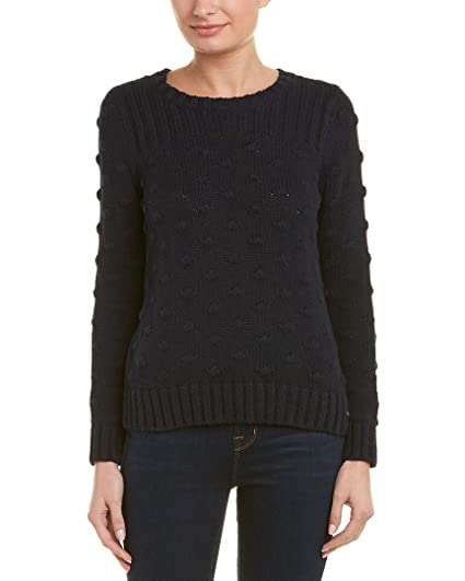 1ff4ef51e2f8 Two by Vince Camuto Women s Long Sleeve Rib and Popcorn Stitch ...