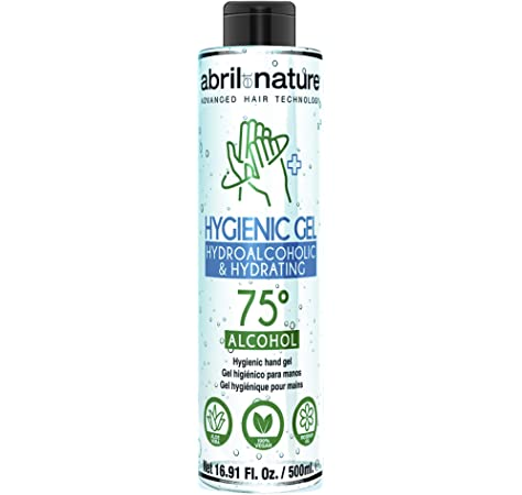 Gel Hidroalcoholico Gel para Manos Higienic Gel abril et nature 500ml.: Amazon.es: Belleza