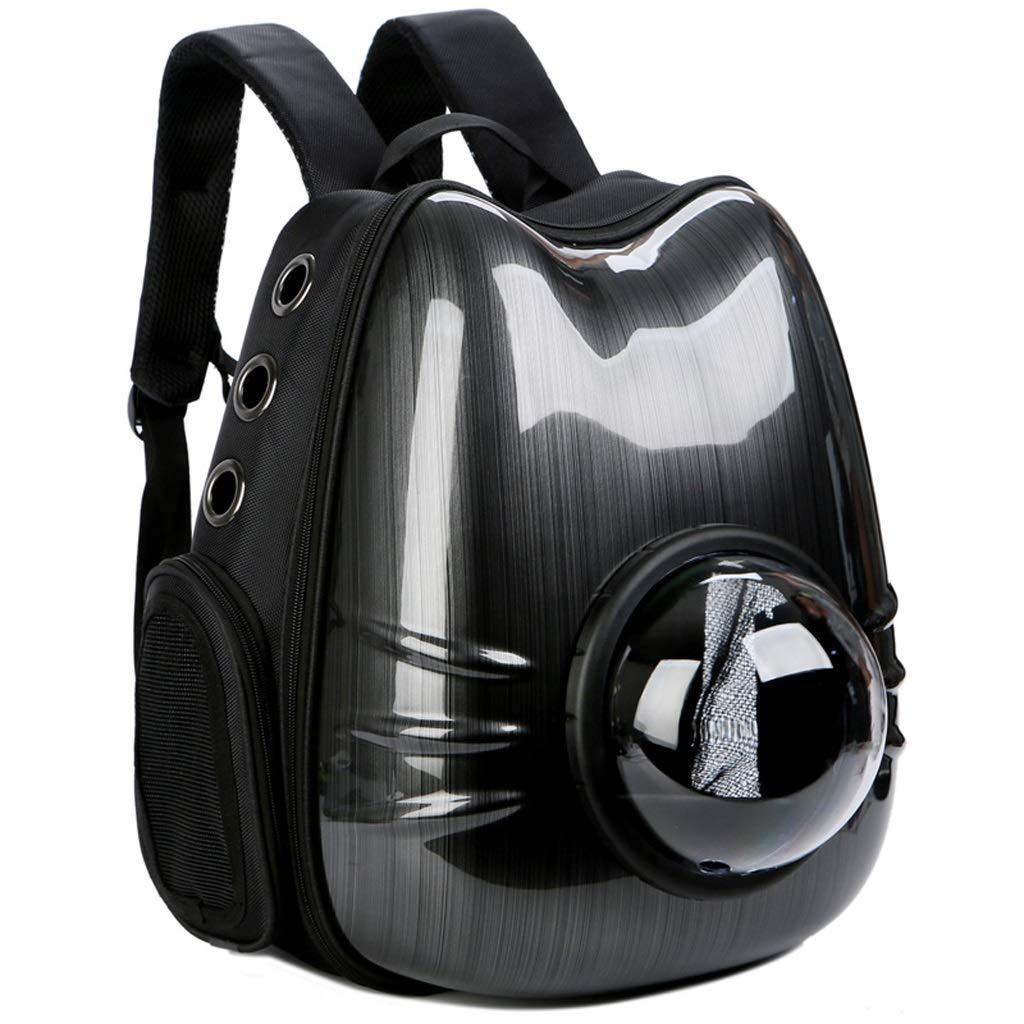 Black Cat Head Shape Pet Bag Out Backpack Dog Out Backpack Portable Backpack